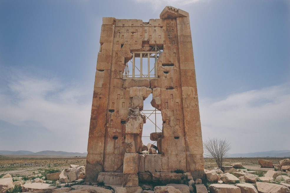Naqsh-e Rustam en Pasargadae